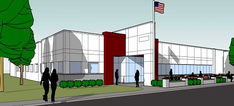 Corporate Photo 5 Corporate Design AC Press Exterior 2011, 47,000 SF 140 Cars on 9 Acres Overall croppedsm