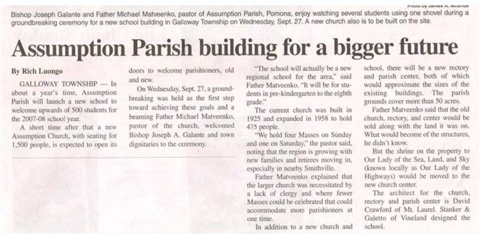 News Photo 5  Firm News 1.2.4 Herald News Assumption Article 10-6-06
