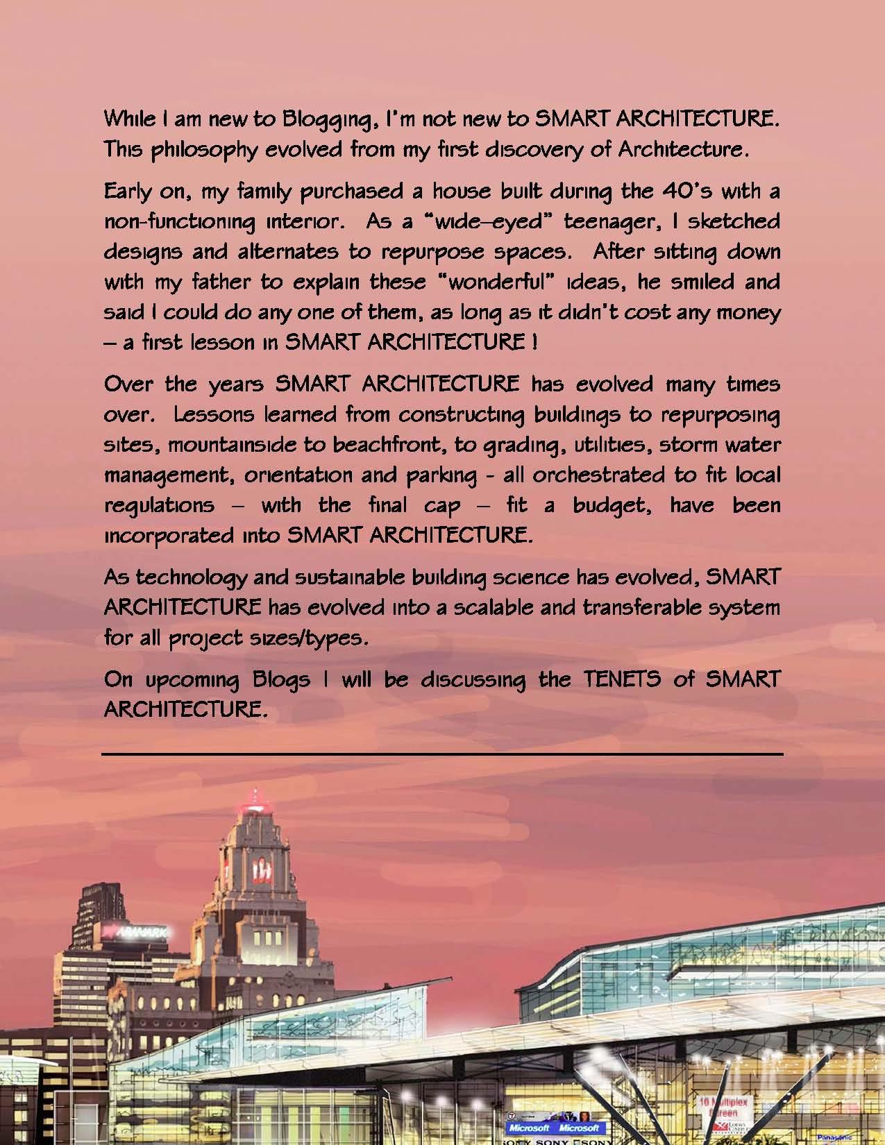 Smart Architecture A Preface